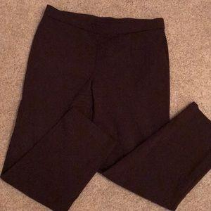 Brown, Stretch Dress Pants
